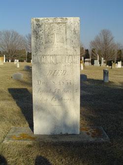 Lyman Dillon Grave